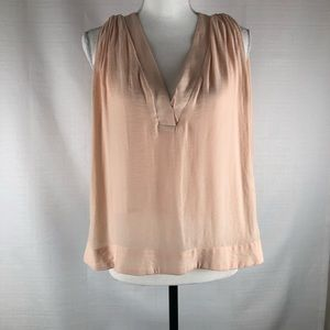 Free People Layered Sleeveless V Neck Top size: S